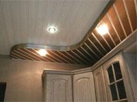 Потолок из металлических листов