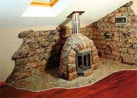 Камин в интерьере