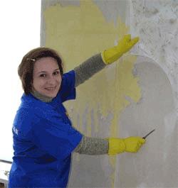 Подготовка стен к оклеиванию