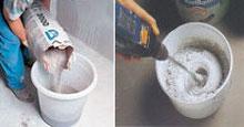Приготовление сухой смеси