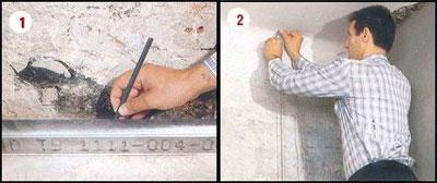 Этапы выравнивания стен гипсокартоном 1-2