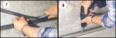 Этапы выравнивания стен гипсокартоном 7-8