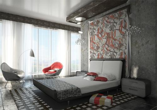 Интерьер спальни (фото-15)