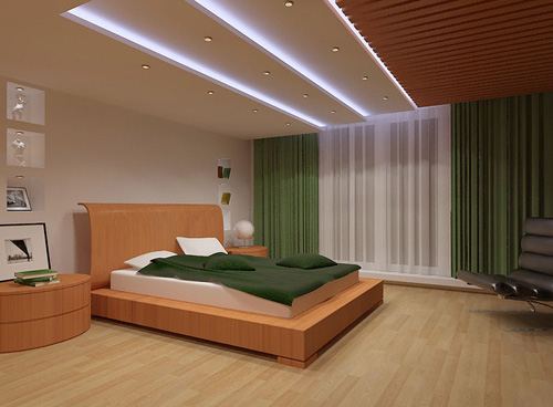 Интерьер спальни (фото-17)
