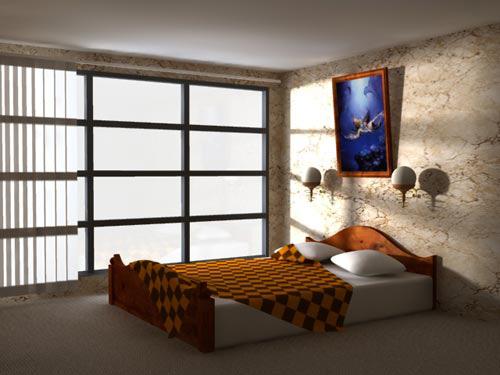 Интерьер спальни (фото-20)
