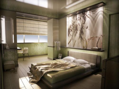 Интерьер спальни (фото-5)