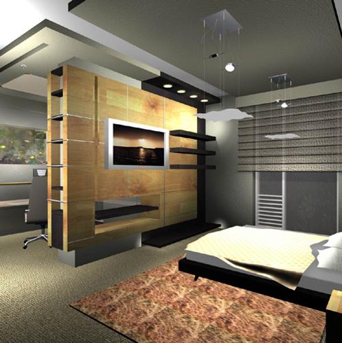 Интерьер спальни (фото-9)
