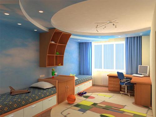 Интерьер детской комнаты (фото-1)