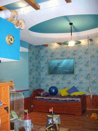 Интерьер детской комнаты (фото-10)