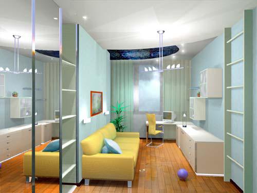 Интерьер детской комнаты (фото-12)