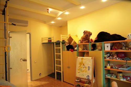 Интерьер детской комнаты (фото-14)
