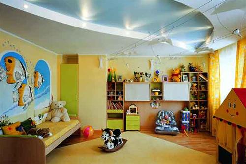 Интерьер детской комнаты (фото-21)
