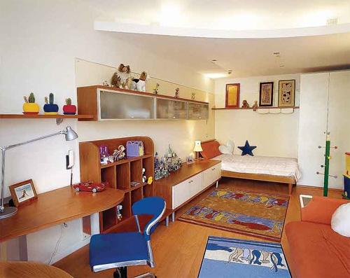Интерьер детской комнаты (фото-22)