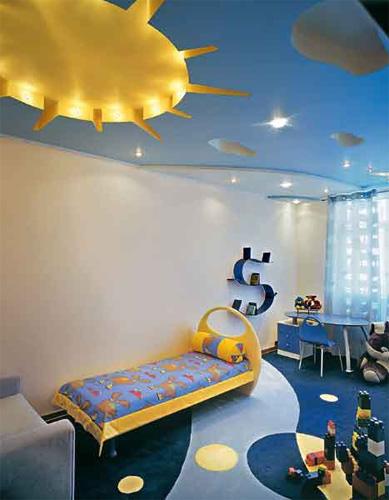 Интерьер детской комнаты (фото-24)