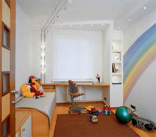 Интерьер детской комнаты (фото-25)