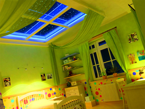 Интерьер детской комнаты (фото-6)