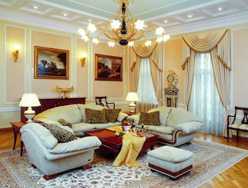 Интерьер гостиной (фото-16)