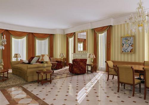 Интерьер гостиной (фото-4)