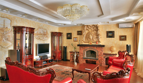 Интерьер гостиной (фото-6)