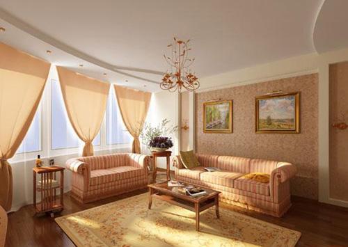 Интерьер гостиной (фото-8)