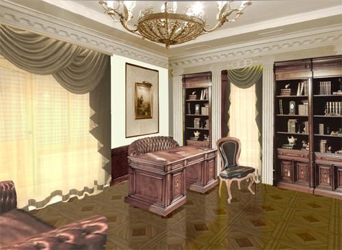 Интерьер кабинета (фото-22)