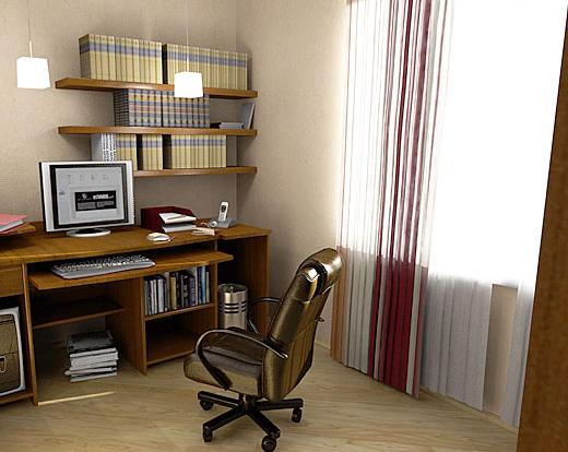 Интерьер кабинета (фото-23)