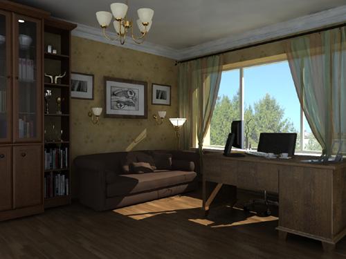 Интерьер кабинета (фото-7)