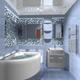 Интерьер ванной комнаты (фото-13)