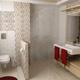 Интерьер ванной комнаты (фото-15)