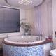 Интерьер ванной комнаты (фото-16)