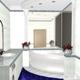 Интерьер ванной комнаты (фото-21)