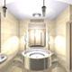 Интерьер ванной комнаты (фото-22)