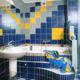 Интерьер ванной комнаты (фото-25)