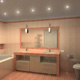 Интерьер ванной комнаты (фото-4)