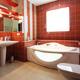 Интерьер ванной комнаты (фото-7)