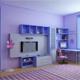 Интерьер детской комнаты (фото-11)