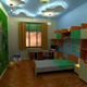 Интерьер детской комнаты (фото-4)