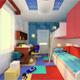 Интерьер детской комнаты (фото-7)