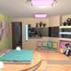 Интерьер детской комнаты (фото-8)